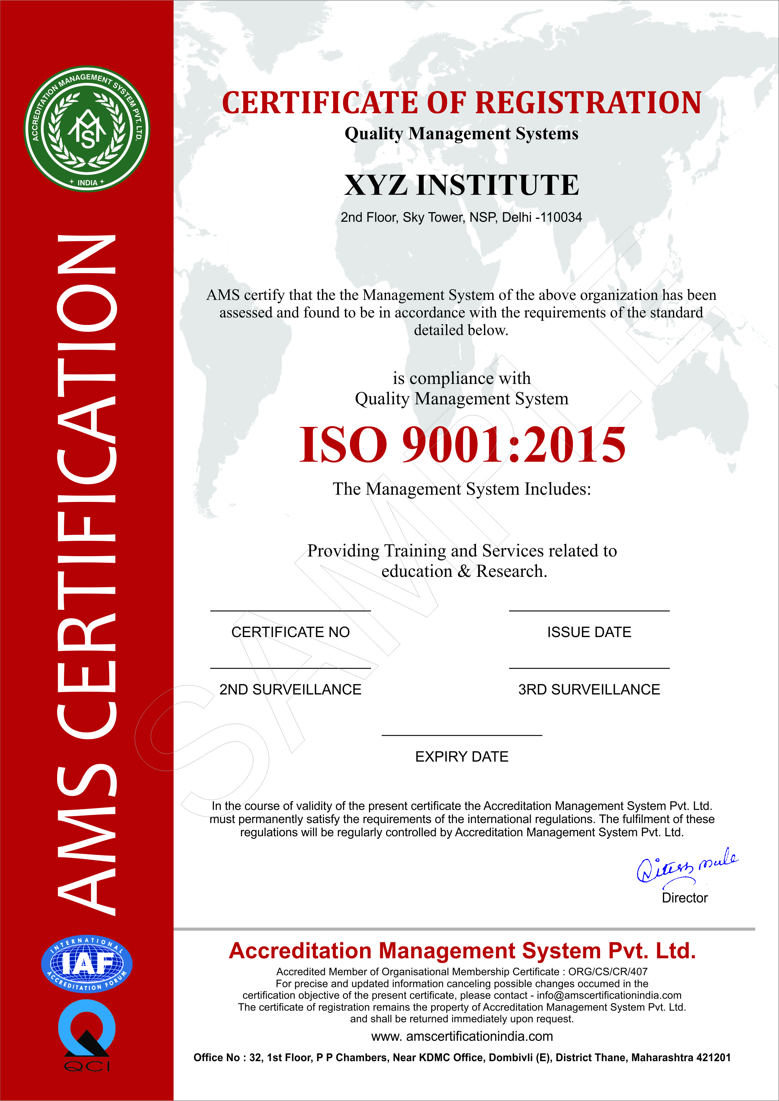 Accreditation management system pvt ltd our certifications more 1betcityfo Gallery